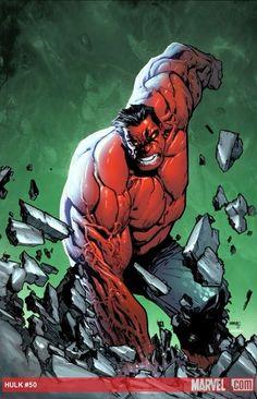 Red Hulk by Humberto Ramos *