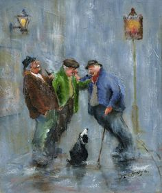 Pause For A Chat by Des Brophy