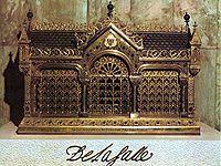 Relics of Jean Baptiste de La Salle in the Casa Generaliza in Rome