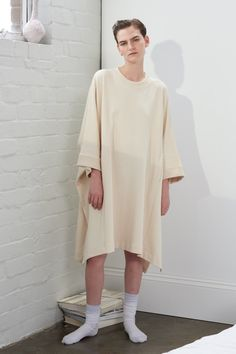 Building Block Cape, Cream