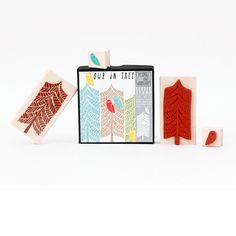 "Yellow Owl Workshop ""Owl Stamp Set"" | Art Star"