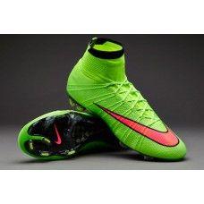 new product f648d b00ae Nike Mercurial Superfly FG - Green Hyper Punch Black cheap football shoes  Cheap Football