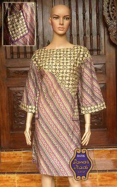 style dress batik danarhadi
