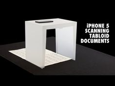 iPhone 5 Scanning Tabloid Documents