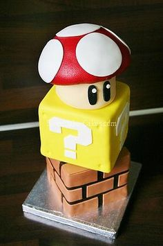 Sweetlake Cakes   Super Mario Brothers Cake