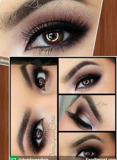 This look was done using the Lorac Pro Palette 2. Def. trying this when my LORAC Pro2 gets here!