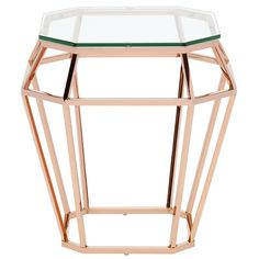 Nuevo Home Diamond Side Table