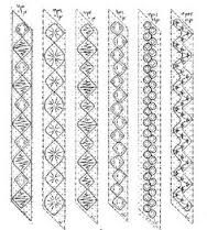 Resultado de imagen de bobbin lace making patterns for beginners More