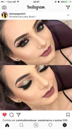 Make-up ideas Make-up ideas Gold Makeup, Bride Makeup, Cute Makeup, Perfect Makeup, Wedding Makeup, Hair Makeup, Smokey Eye Makeup, Eyeshadow Makeup, Makeup Cosmetics