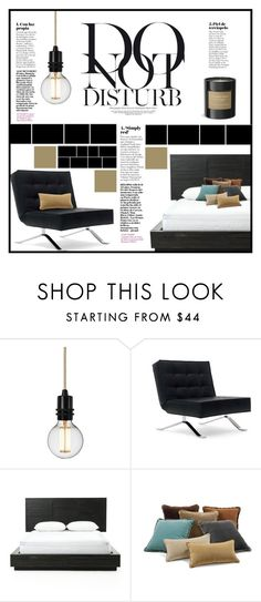 """""""Do not disturb"""" by elisapar ❤ liked on Polyvore featuring interior, interiors, interior design, home, home decor, interior decorating, Anja and Burberry"""