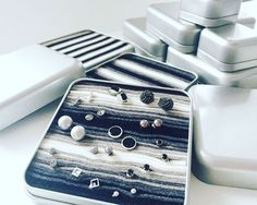 "431 Likes, 8 Comments - @etsyfavorites on Instagram: ""Looking for the perfect travelling box to store your earrings, rings or cuff links?? The #topobox…"""