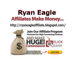 Ryan Eagle successful youngest affiliate marketer in the online history. He is sharing his experience and success ways in his private affiliate blog. More know details visit- http://ryaneagleaffiliate.blogspot.com/