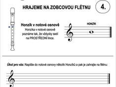Škola hry na zobcovou flétnu – LEKCE ČTVRTÁ Math Equations, Lynx
