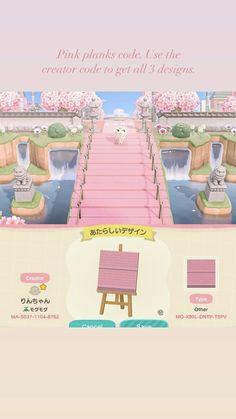 Animal Crossing Wild World, Animal Crossing Guide, Animal Crossing Villagers, Animal Crossing Qr Codes Clothes, Path Design, Motifs Animal, Animal Games, Island Design, New Leaf