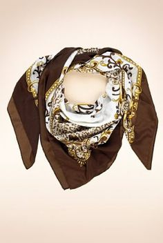 An easy lift to any outfit with this animal print Limited Collection belt border square scarf.