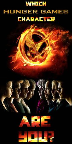 "Which ""Hunger Games"" Character Are You~ I got Katniss"