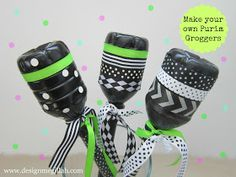 Purim: Make your own Purim Groggers from Design Megilah.  For more ideas, check out Everyday Simchas Pinterest Purim Board!