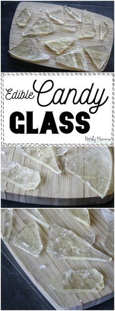 I can't wait to try this recipe for Edible Candy glass! She makes it seem so…