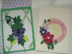 Cartões em quilling | Flickr - Photo Sharing!