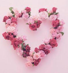 rose heart wreathe