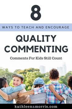 Comments For Kids Still Count: Teaching And Promoting Quality Commenting – Primary Tech by Kathleen Morris