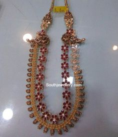 100 Grams Antique Mango Floral Necklace photo