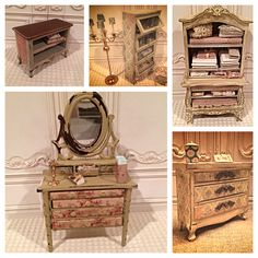 Dollhouse miniature 1:12th scale - Some of my past work