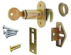 Kv Sterling Folding Closet Door Lock Keyed Different