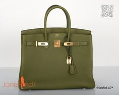 Another Vert Canopee H bag.   Love.