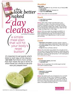 look better naked 2 day cleanse