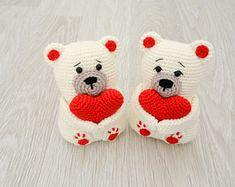 Irresistible Crochet a Doll Ideas. Radiant Crochet a Doll Ideas. Crochet Teddy Bear Pattern, Crochet Doll Pattern, Crochet Bear, Crochet Patterns Amigurumi, Amigurumi Doll, Crochet Dolls, Bear Valentines, Elf Christmas Tree, Crochet Projects