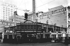 Neiman Marcus store under construction, Dallas, Texas, 1927.