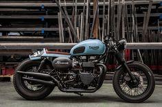 Triumph Bonneville Cafe Racer by Raspo Concept #motorcycles #caferacer #motos…