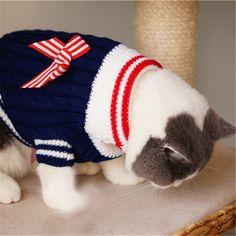 Pet Supplies Cat Clothes Cats Wear Pet Costume Trempelya Products For Cats Sweatshirts Cat Shop Dogs QQM2629