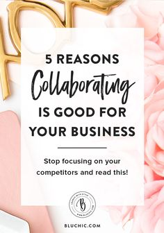 Competing should never be a primary focus of your business. We detail 5 reasons why collaborating instead of competing is good for your business.