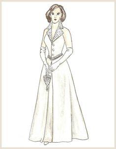 Platinum & Diamonds / sewing pattern for the Gene Marshall doll by Ashton Drake
