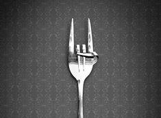 tenedor maleducado
