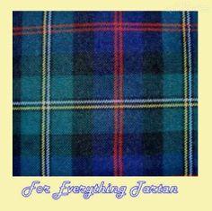 Malcolm Modern Tartan Polyviscose Plaid Fabric Swatch  by JMB7339 - $20.00