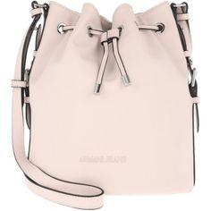 1d934f6b80f Armani Jeans Shoulder Bag - Austria Secchiello Bucket Bag New Light...  ( 165) ❤ liked on Polyvore featuring bags, handbags, shoulder bags, rose,  ...