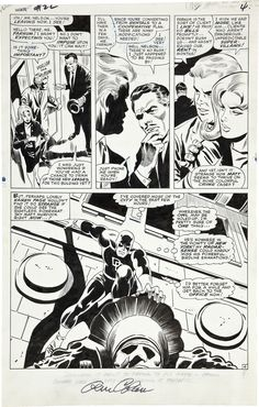 Daredevil #22 by Gene Colan (at this stage still trying somewhat to ape the style of his predecessor, John Romita)