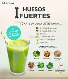Hábitos Health Coaching | JUGO DE VERDURAS PARA TENER HUESOS FUERTES