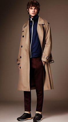 Light taupe brown The Trench Coat - Image 1