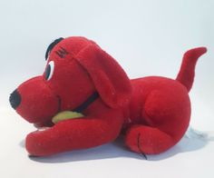 blue dog Clifford plushy stuffed animal, used in VGC #Clifford Blue Dog, Plushies, Dinosaur Stuffed Animal, Dogs, Animals, Ebay, Animales, Animaux, Stuffed Animals
