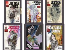 JESSICA JONES #1-6 Marvel 2017 Comic Book COMPLETE 1ST STORY ARC NETFLIX SHOW | Collectibles, Comics, Full Runs & Sets | eBay!