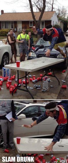 Slam drunk!