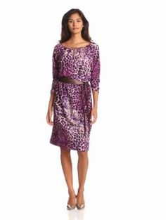 Anne Klein Women's Animal Print Dress …, http://style-smilez.tumblr.com/post/43575298623/anne-klein-womens-animal-print-dress , Pinned by http://pinterest.com/pinterestfella