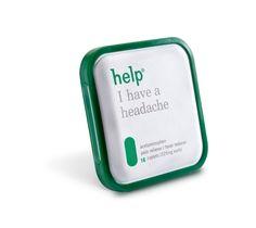 Diseños de envases de medicinas que evitan confusiones: Help