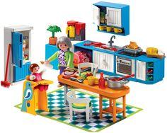 Playmobil 5302 maison de ville jeux et jouets - Playmobil cuisine 5329 ...