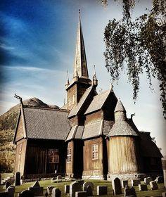 Viking Men - heidruna:   Lom stavkirke   #stavechurch #norway...