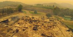 Drone Captures Washington Wildfire Destruction, Goes Viral  #drones #firefighting drones #washington state #wildfires http://www.dronedefinition.com/?p=828 #drone #drones